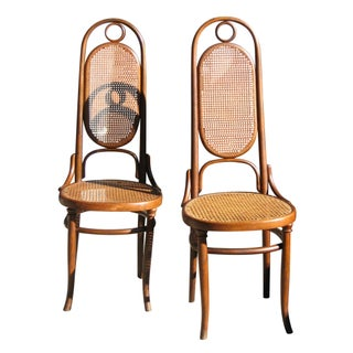 Fischel Of Austria Bentwood Chairs - A Pair
