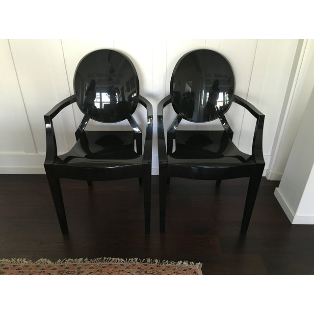 Phillipe Starck Kartell Louis Ghost Chair - Pair - Image 2 of 11