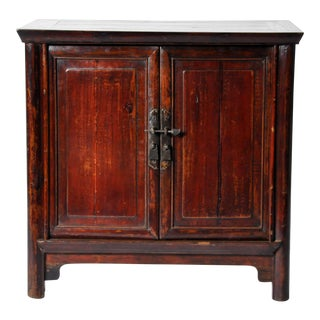 Chinese Side Chest with Restoration