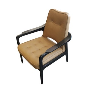 Ochre Leather Chair