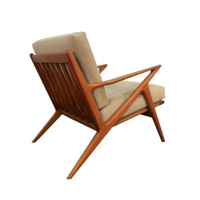 Poul jensen for selig z lounge chair in teak chairish for Poul jensen z chair