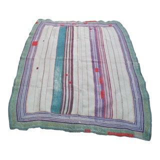 Vintage Bangladeshi Kantha Bed Cover