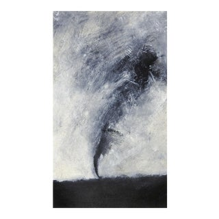 Abstract Tornado Monoprint