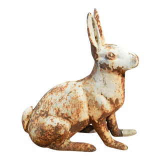 Antique Cast Iron Rabbit