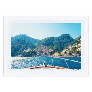 "Gray Malin ""Positano Coast"" (La Dolce Vita) Signed Framed Print"