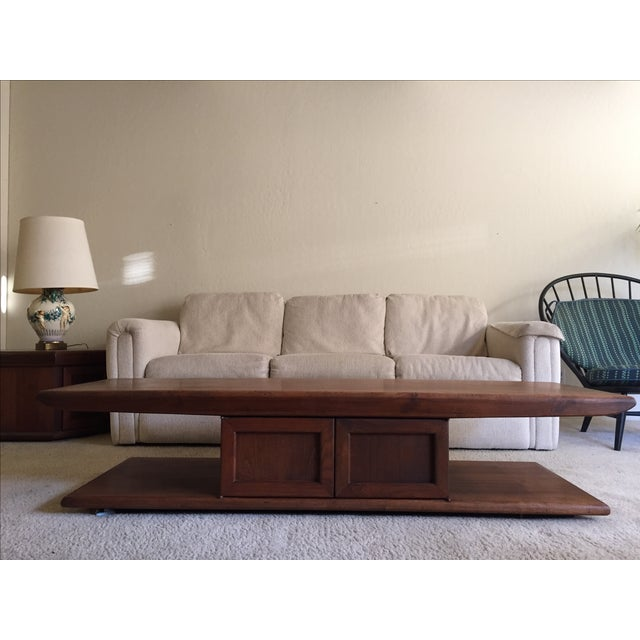Mid-Century Narrow Coffee Table