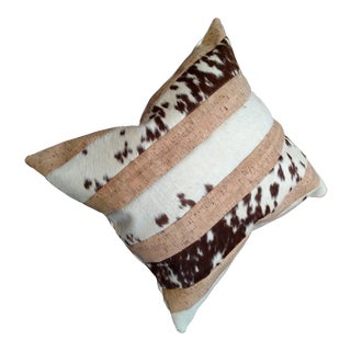 Gambrell Renard Cowhide & Cork Pillow