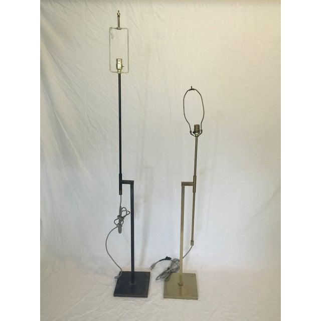 Vintage Laurel Adjustable Floor Lamps - A Pair - Image 2 of 11