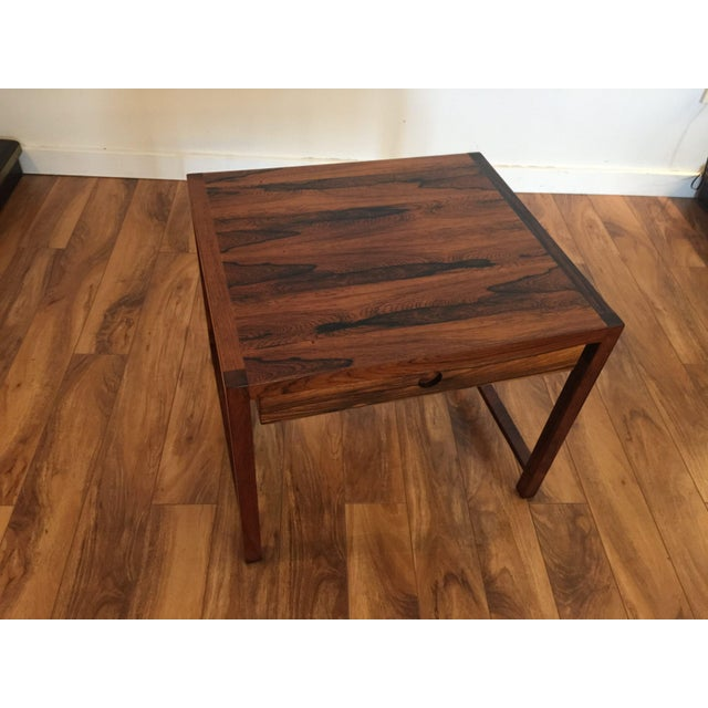 Brode Blindheim Rosewood End Table - Image 2 of 9