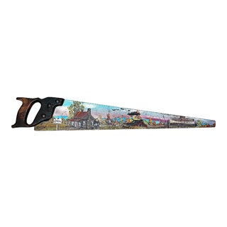 Paint-Painted Hand Saw Country Decor
