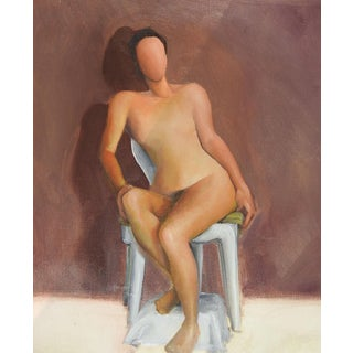 Mannequin Nude Study Oil Painting