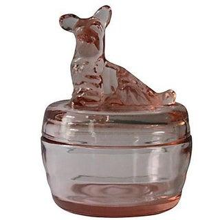Scottish Terrier Vanity Powder Box