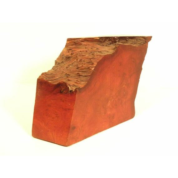 Image of Vintage California Redwood Burl Abstract Sculpture