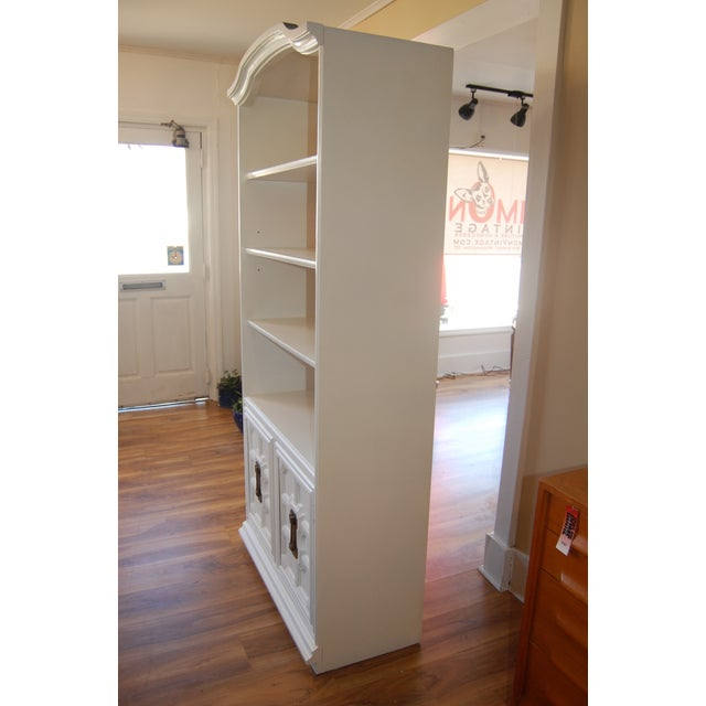 Painted Mid Century Shelving Unit - Image 5 of 8