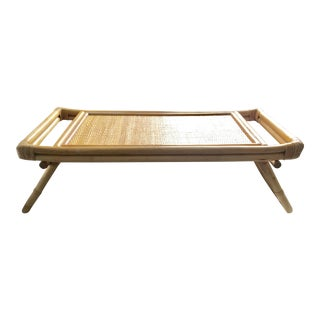 Mid-Century Breakfast in Bed Bamboo Tray