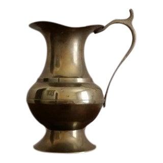Brass Decorative Vase with Handle