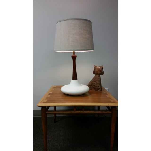 Image of Mid-Century Ceramic Table Lamp