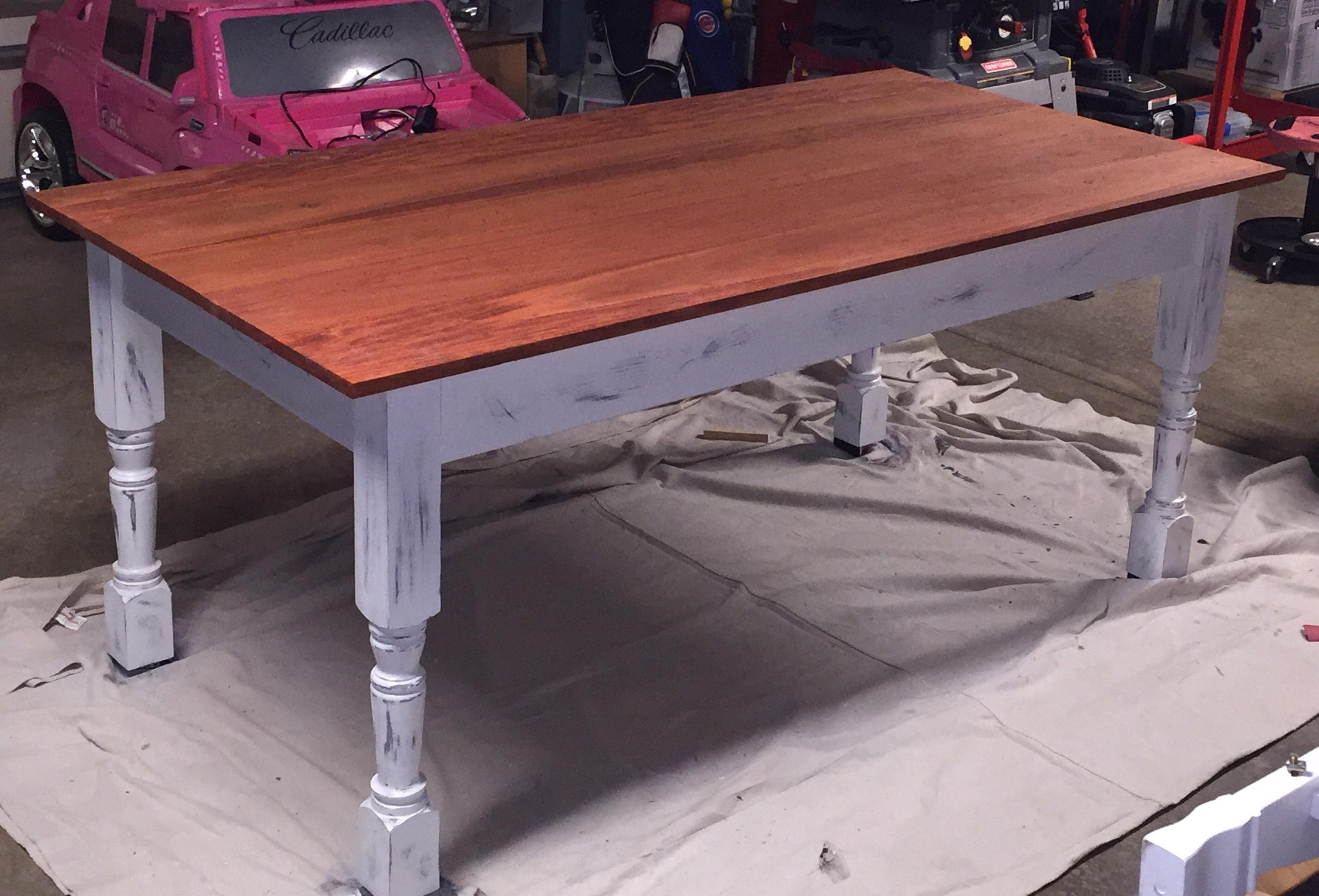 Custom Farmhouse Kitchen Table