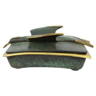 Dayagi Mid Century Modern Brass Box