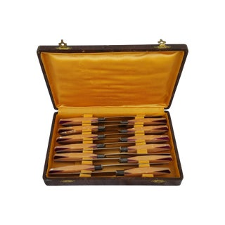 Art Deco French Knife - Set 12
