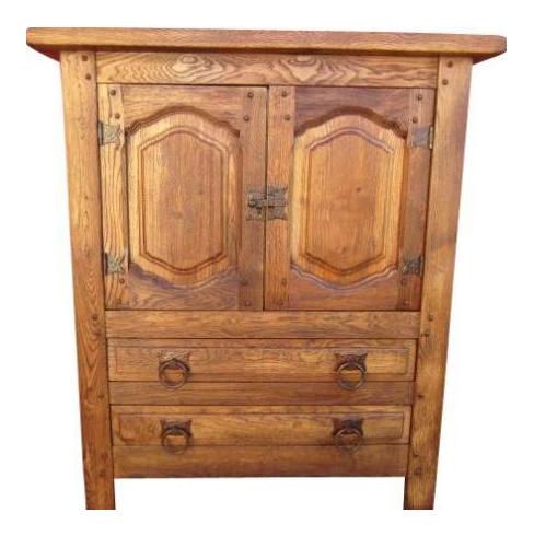 Vintage Mission Style Arts U0026 Crafts Oak Cabinet Server