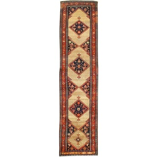"Pasargad NY Antique Persian Malayer Hand-Knotted Rug - 3'4""x13'2"""