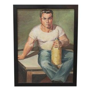 "Ruth Hilts ""Man"" Portrait"