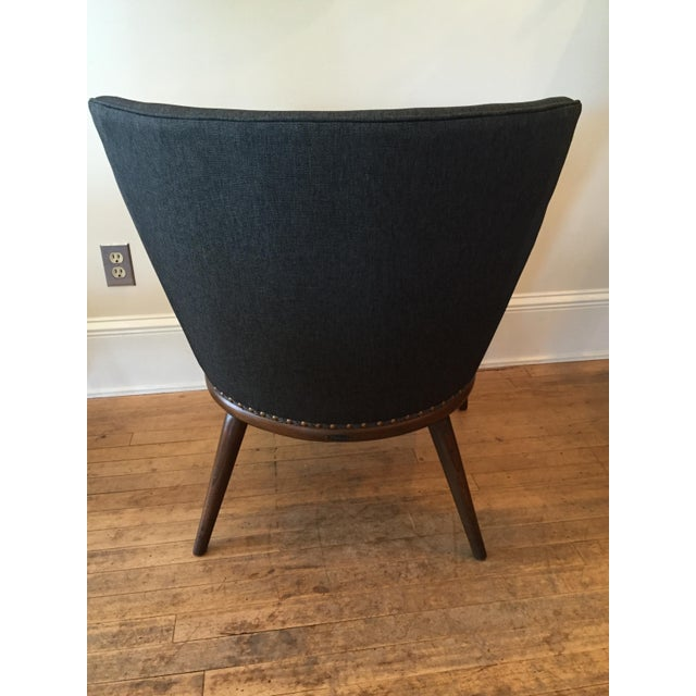 50's J.B. Van Sciver Chair & New Knoll Upholstery - Image 5 of 7