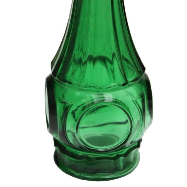 Short Emerald Green Vase - Image 2 of 4