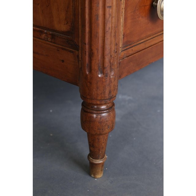 19th Century Louis XVI Fruitwood Commode - Image 6 of 11