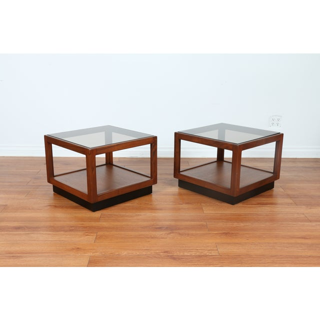 Brown & Saltman Side Tables- A Pair - Image 2 of 10