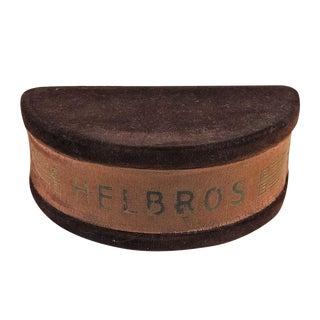 Vintage Velvet Helbros Deco Watch Box