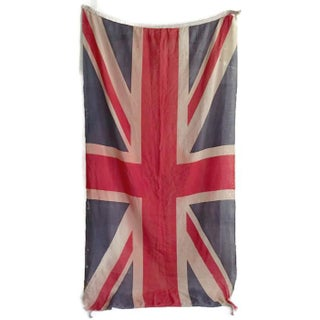 Vintage Union Jack Paper Thin Distressed Flag