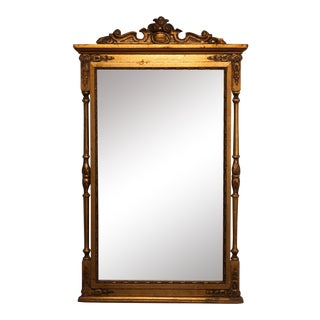 Early 19th Century Composition Mirror