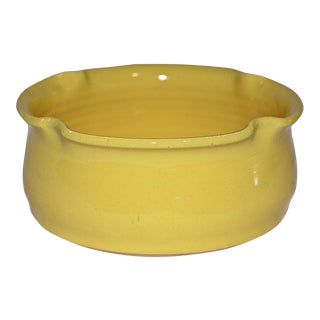 Kings Pottery Bright Yellow Bowl