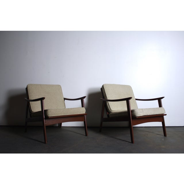 Image of Mid Century Modern Yugoslavian Chairs - Pair