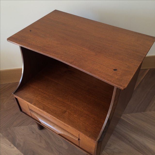 Mid-Century Stepped Side Tables - A Pair - Image 7 of 9