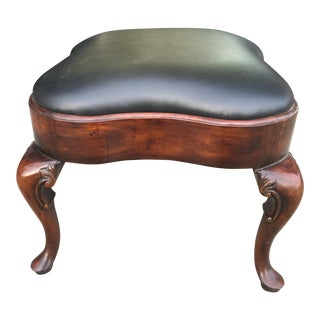 Theodore Alexander Leather Footstool