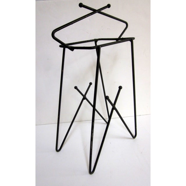 Mid-Century Modern Hairpin Atomic Ashtray Stand - Image 6 of 6