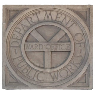 Ward Office Panel with Seal of Chicago