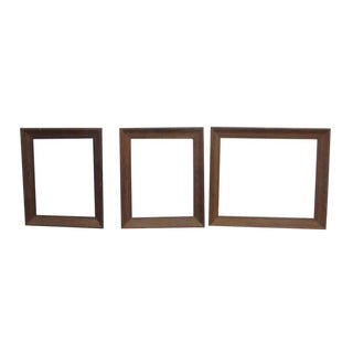 Vintage Wooden Frames - Set of 3