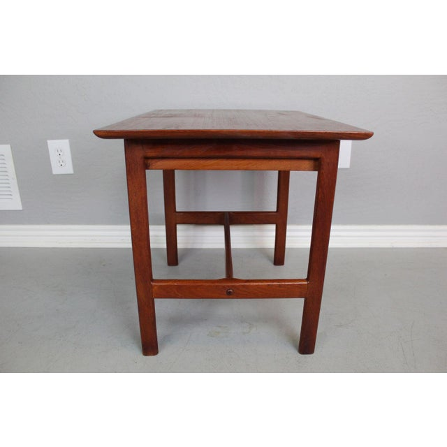 George Tanier Teak Side Table by P. Jeppeson - Image 6 of 9