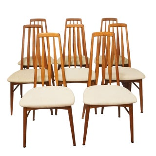 Niels Koefoed Eva Dining Chairs - Set of 8