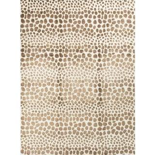 "Contemporary Safari Print Wool Rug - 9'2"" x 12'3"""