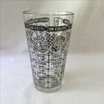 Image of Vintage Cocktail Recipe Glass