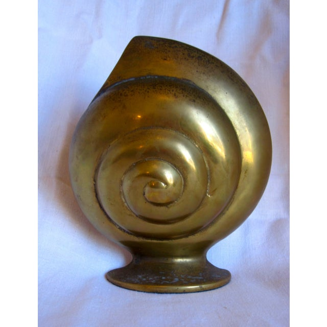 Brass Shell Bookends - Image 6 of 8