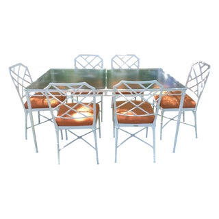 1981 Brown Jordan Calcutta Collection Dining Set
