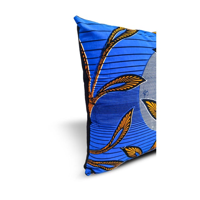 Rise & Shine Wax Print Pillow Cases - A Pair - Image 4 of 5