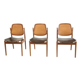 Arne Vodder Dining Chairs - Set of 3