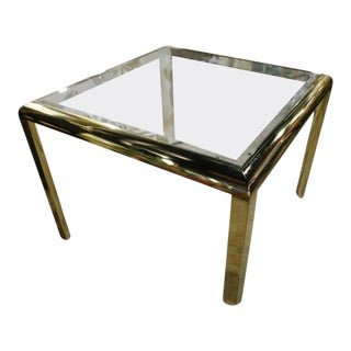 Vintage Brass Dining Table Game Table